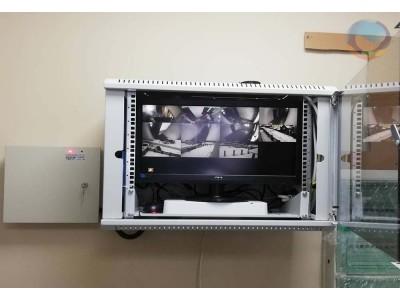 <Система видеонаблюдения офисного здания г. Домодедово