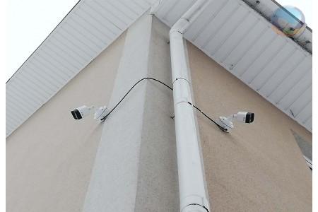 Система видеонаблюдения офисного здания г. Домодедово