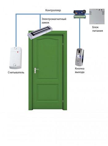 Готовый комплект СКУД №1 на одну дверь под ключ