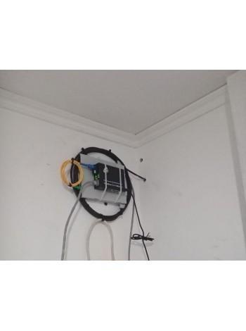 Оконцовка оптического кабеля в частном доме