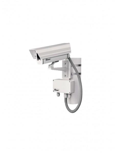 Монтаж камеры на столб освещения