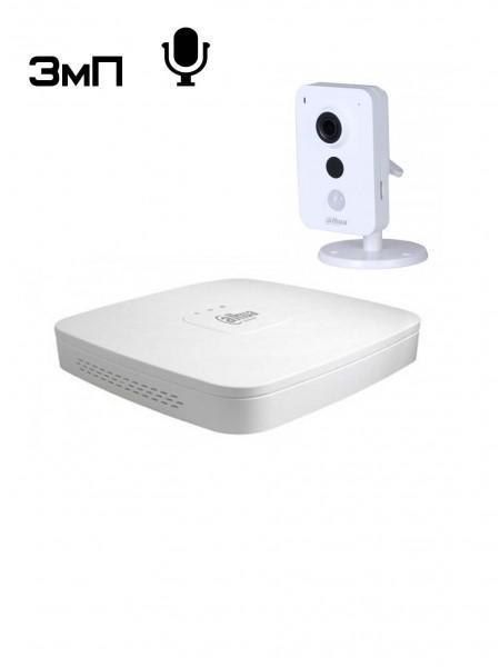 IP видеонаблюдение в офисе - Комплект №1