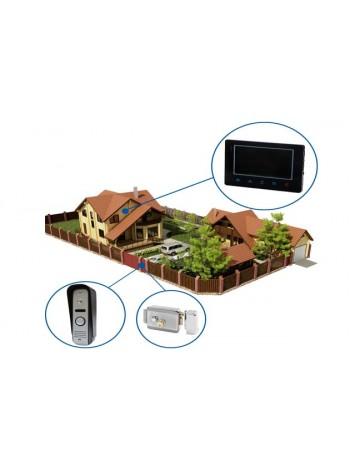 Установка видеодомофона в частный дом
